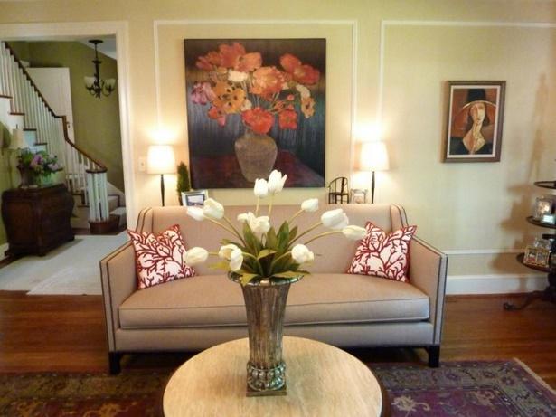Tischdeko Ideen Wohnzimmer : Tischdeko Stilvolle Ideen Wei?e Tulpen  Wohnzimmer Dekorieren
