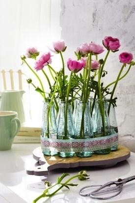 Deko vasen f r wohnzimmer for Wohnzimmer dekoration silber
