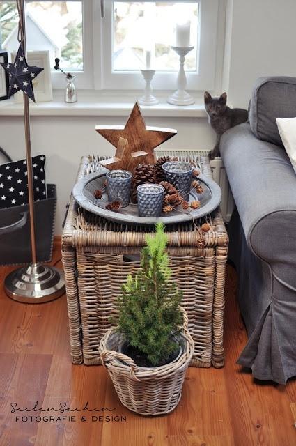 Deko weihnachten wohnzimmer