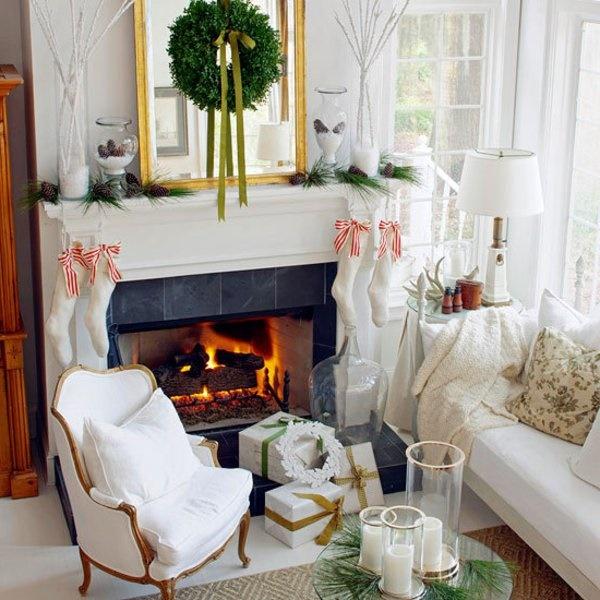 Deko weihnachten wohnzimmer for Wohnzimmer deko weihnachten