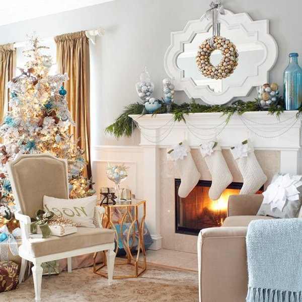 Deko weihnachten wohnzimmer for Zimmer deko weihnachten