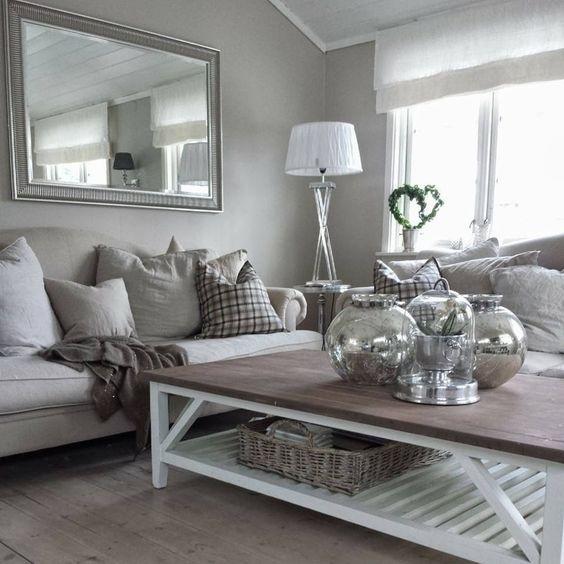deko wohnzimmer grau On kinderzimmer grau weiß