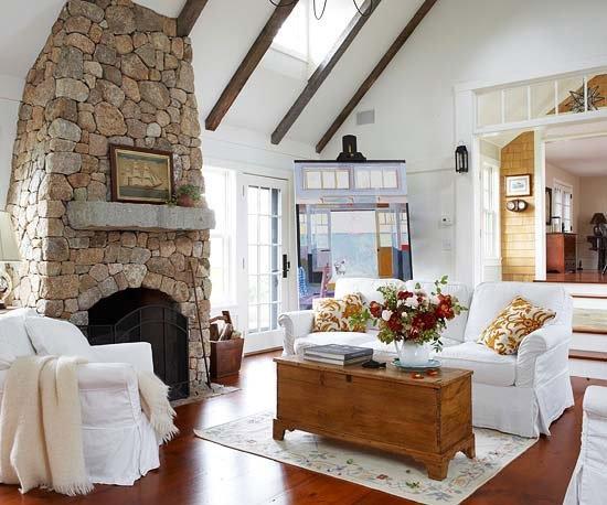 Deko wohnzimmer landhaus