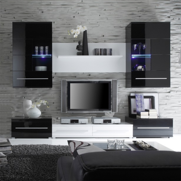 deko wohnzimmer schwarz wei. Black Bedroom Furniture Sets. Home Design Ideas