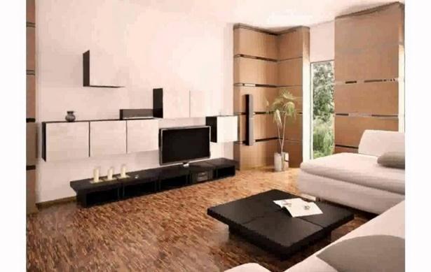 Dekoideen wohnzimmer braun