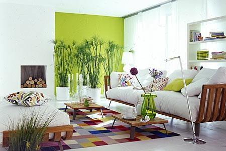 dekoideen wohnzimmer gr252n