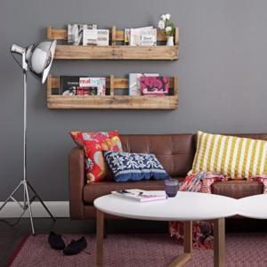 dekoideen wohnzimmer regal. Black Bedroom Furniture Sets. Home Design Ideas