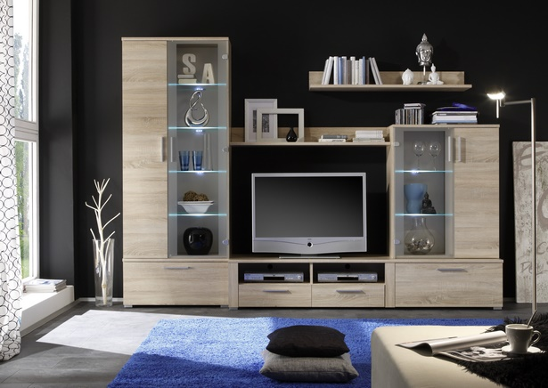 dekoration f r wohnwand. Black Bedroom Furniture Sets. Home Design Ideas