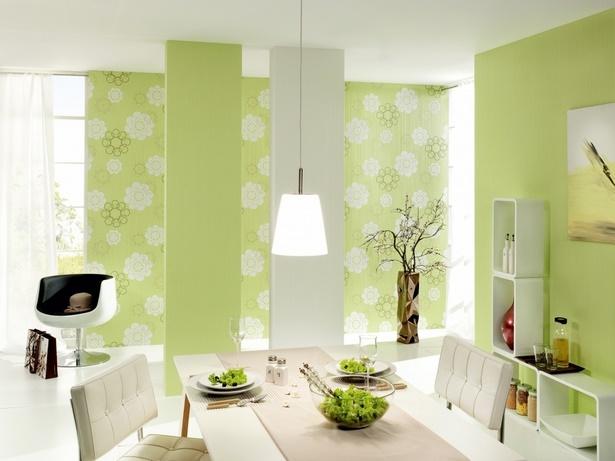 dekoration wohnzimmer gr n. Black Bedroom Furniture Sets. Home Design Ideas