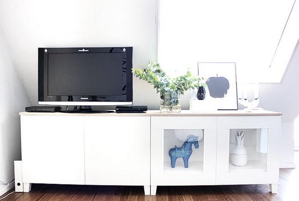 Fernseher dekorieren for Bescheiden gestaltung wohnzimmerwand