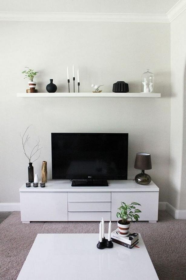 Fernseher dekorieren
