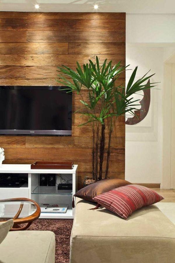 Fernseher dekorieren - Dekorative pflanzen furs wohnzimmer ...