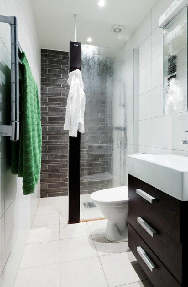 Fliesengestaltung kleines bad for Fliesengestaltung dusche