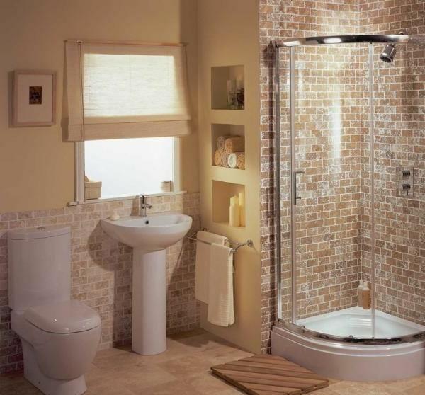 Badezimmer Fliesen: Fliesengestaltung Kleines Bad