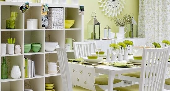 gr ne deko ideen. Black Bedroom Furniture Sets. Home Design Ideas