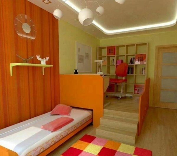 20 Komfortable Jugendzimmer Mit Dachschräge Gestalten: Jugendzimmer 2 Betten