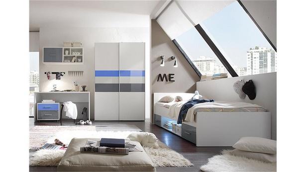 Jugendzimmer f r 2 - Jugendzimmer blau ...
