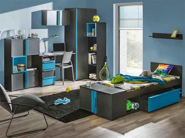 jugendzimmer f r jungs komplett. Black Bedroom Furniture Sets. Home Design Ideas