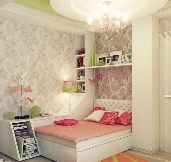 Jugendzimmer gestalten mädchen