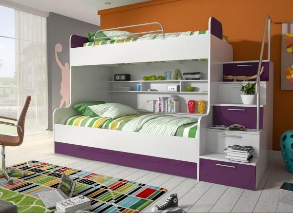 jugendzimmer mit hochbett komplett. Black Bedroom Furniture Sets. Home Design Ideas