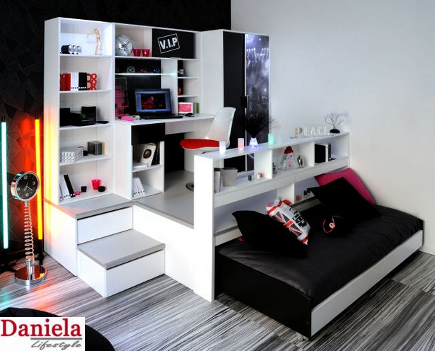 jugendzimmer mit schreibtisch. Black Bedroom Furniture Sets. Home Design Ideas