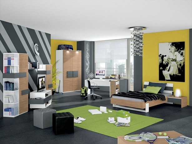jugendzimmer set jungen. Black Bedroom Furniture Sets. Home Design Ideas