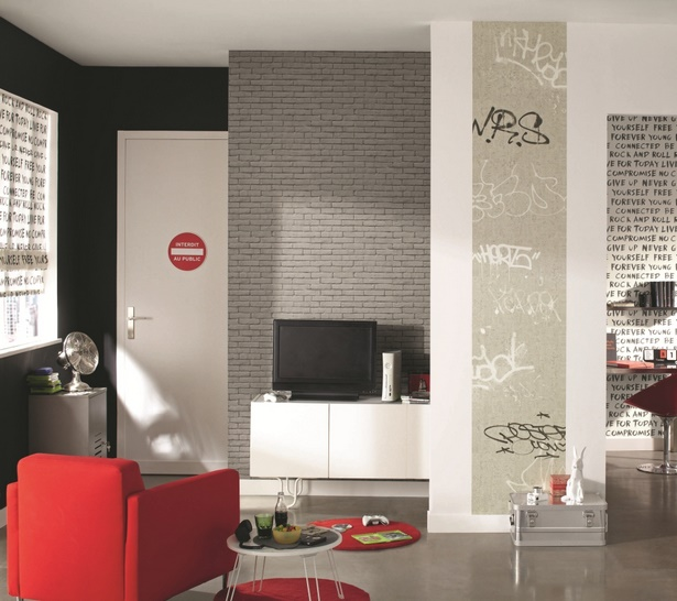 jugendzimmer tapete jungen. Black Bedroom Furniture Sets. Home Design Ideas