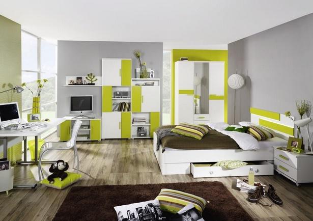 jugendzimmer wei gr n. Black Bedroom Furniture Sets. Home Design Ideas