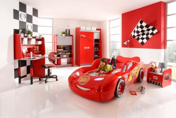 Kinderzimmer junge komplett for Kinderzimmer cars komplett