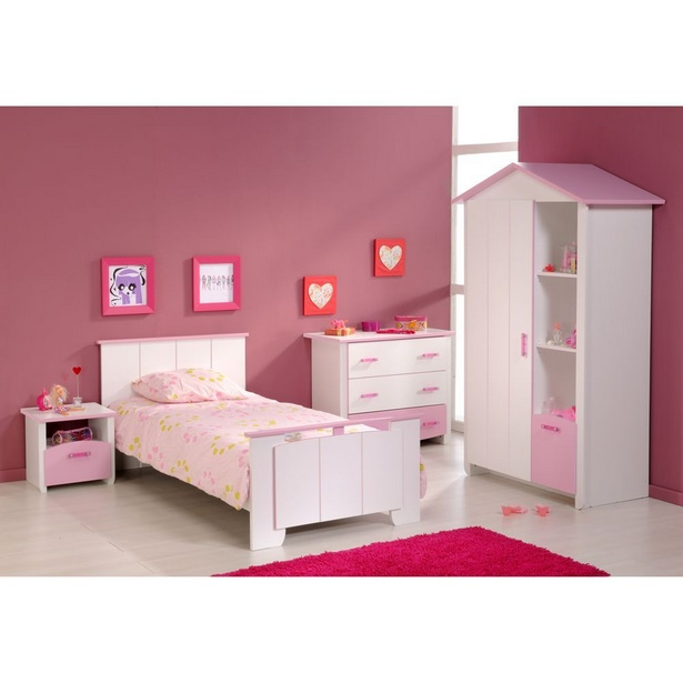 Kinderzimmer komplett m dchen for Kinderzimmer madchen rosa