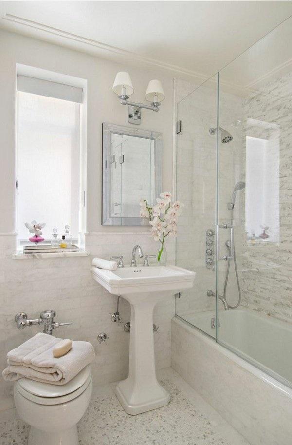 Kleine Badezimmer Inspiration