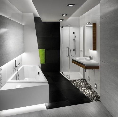 Kleines bad modern gestalten for Bad gestalten modern