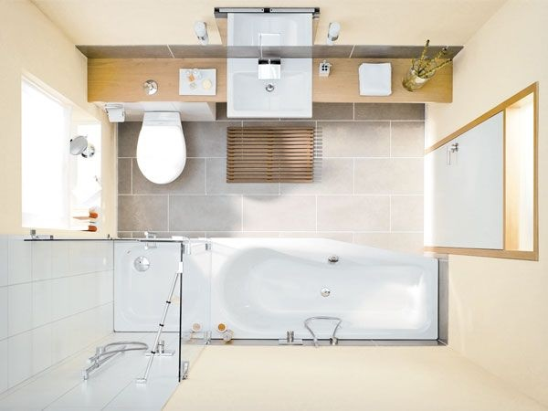 kleines bad einrichten - Badezimmer Neu Gestalten