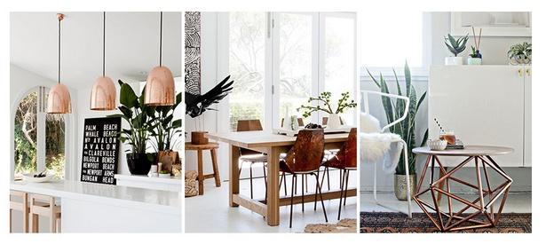 Kupfer deko wohnzimmer inspiration f r for Deko kupfer schwarz