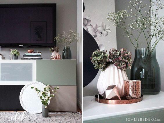 kupfer deko wohnzimmer inspiration f r. Black Bedroom Furniture Sets. Home Design Ideas