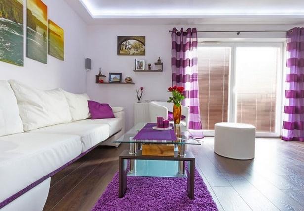 lila deko wohnzimmer. Black Bedroom Furniture Sets. Home Design Ideas