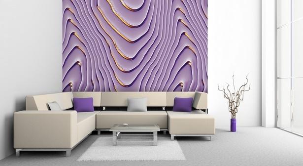 Lila Wohnzimmer Ideen   Möbelideen