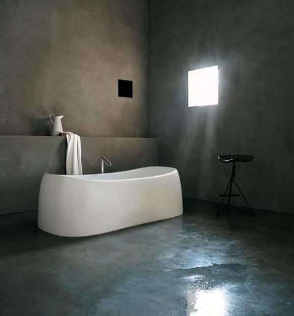 Moderne bäder mit freistehender badewanne