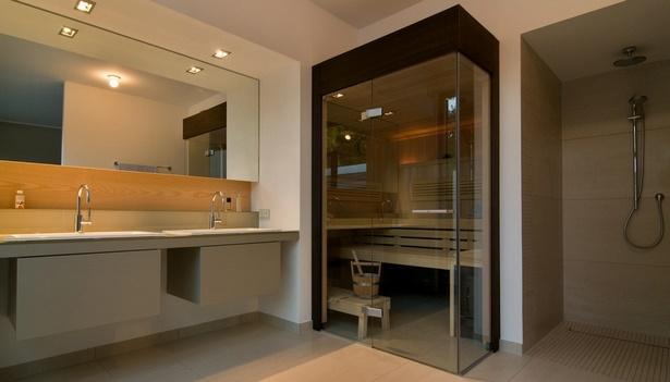 moderne b der mit sauna. Black Bedroom Furniture Sets. Home Design Ideas