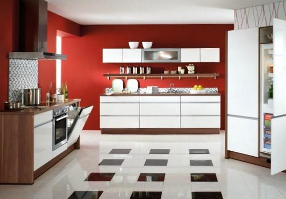 moderne k che deko. Black Bedroom Furniture Sets. Home Design Ideas