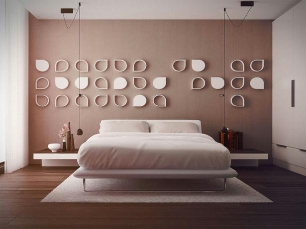 Moderne schlafzimmer deko