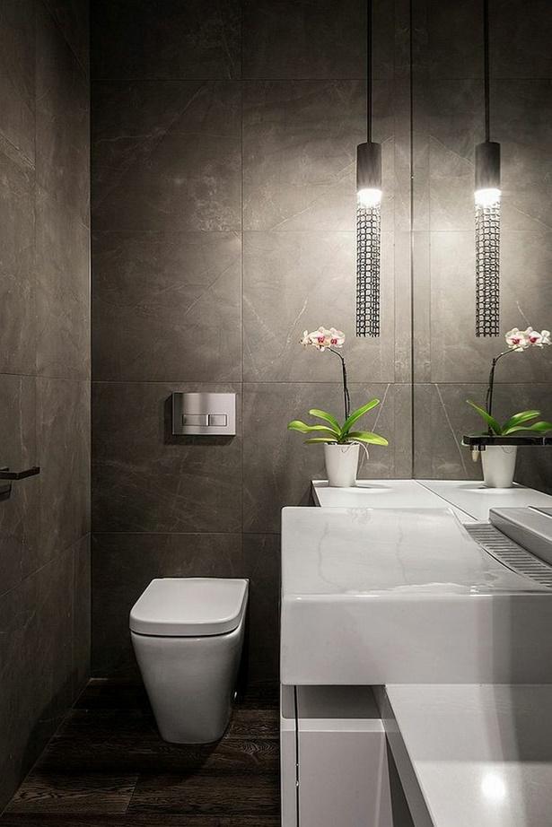Moderne wc gestaltung