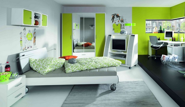 modernes jugendzimmer ideen. Black Bedroom Furniture Sets. Home Design Ideas