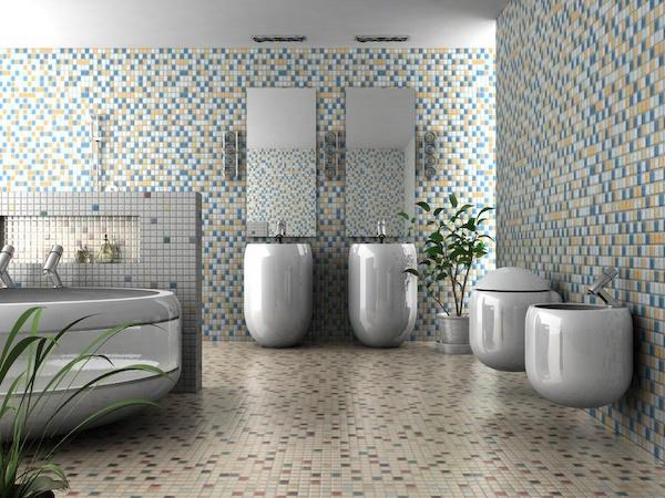 mosaik badezimmer. Black Bedroom Furniture Sets. Home Design Ideas