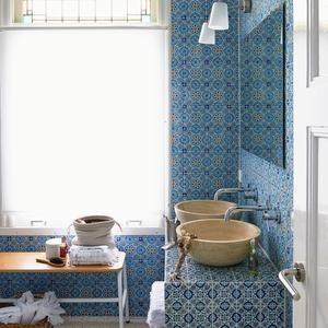 Muster fliesen bad - Badezimmer marokkanisch ...