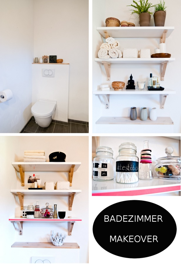 Regal sch n dekorieren for Badezimmer ideen diy