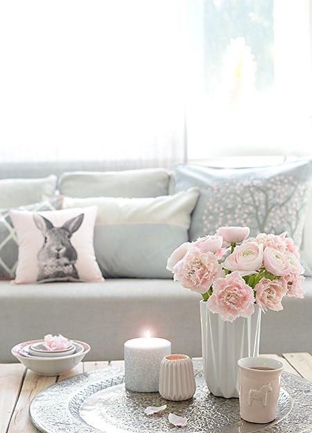 Rosa dekoartikel for Dekoartikel home