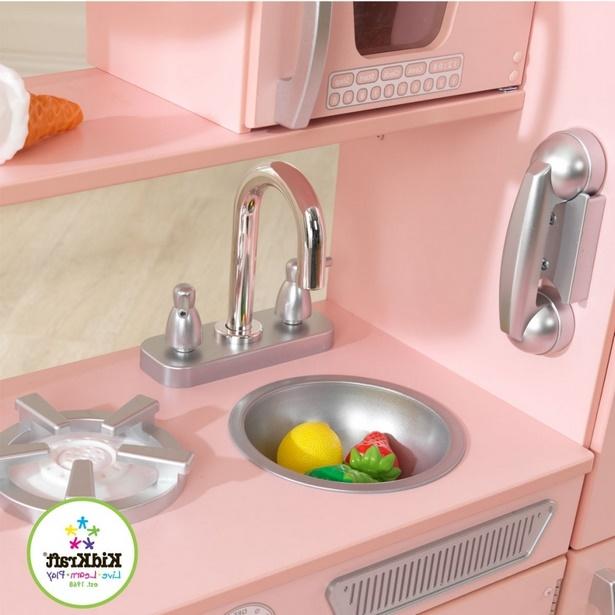 Rosa küche deko