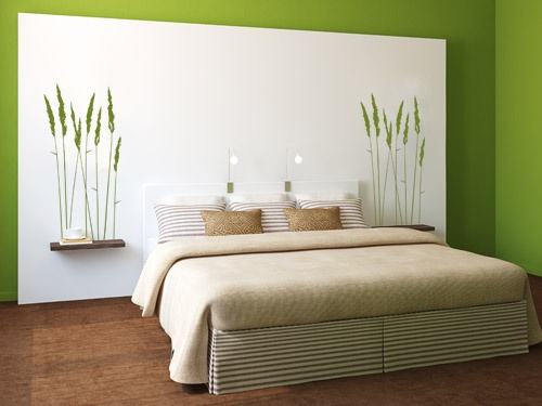 schlafzimmer deko ideen wand. Black Bedroom Furniture Sets. Home Design Ideas