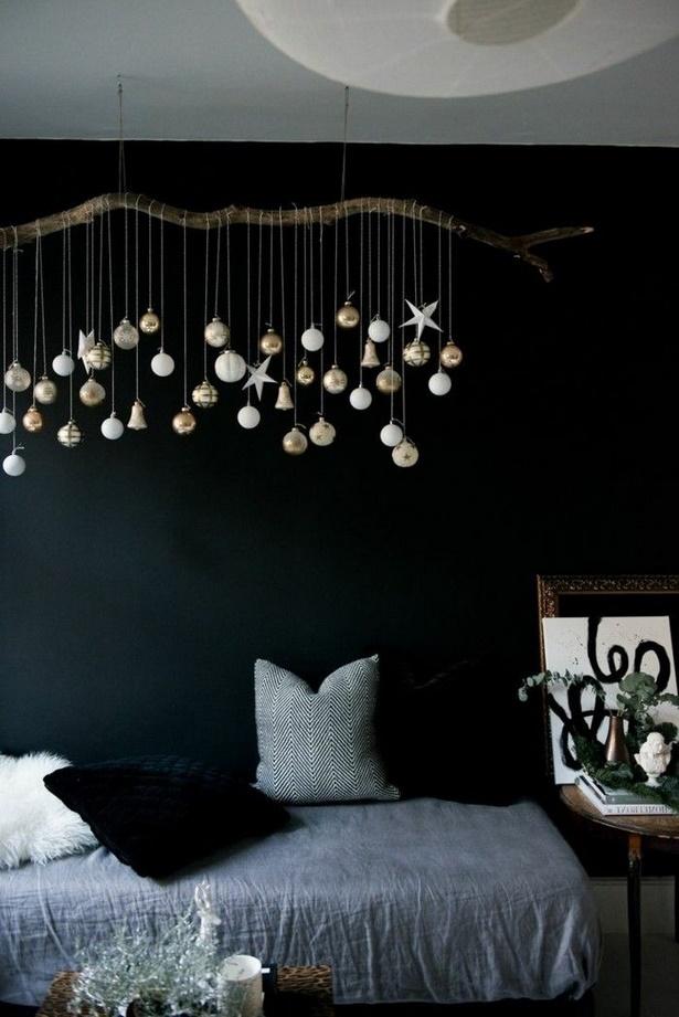 Schlafzimmer deko ideen wand for Zimmerdeko weihnachten